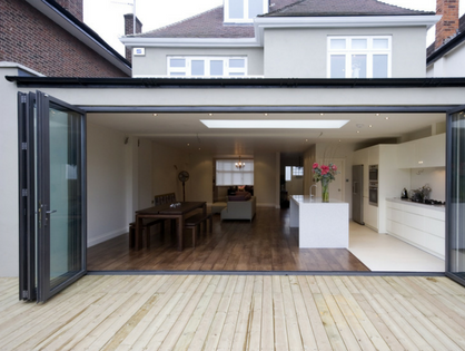 What Are Bi-Fold Doors?